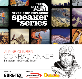 North Face Speaker Series Poster