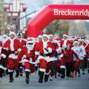 Lighting of Breckenridge and Race of the Santas @ Downtown Breckenridge | Breckenridge | Colorado | United States