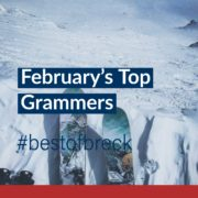 February's Top Grammers