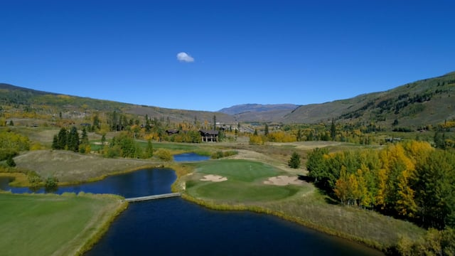 Golf course in Silverthorne, Colorado