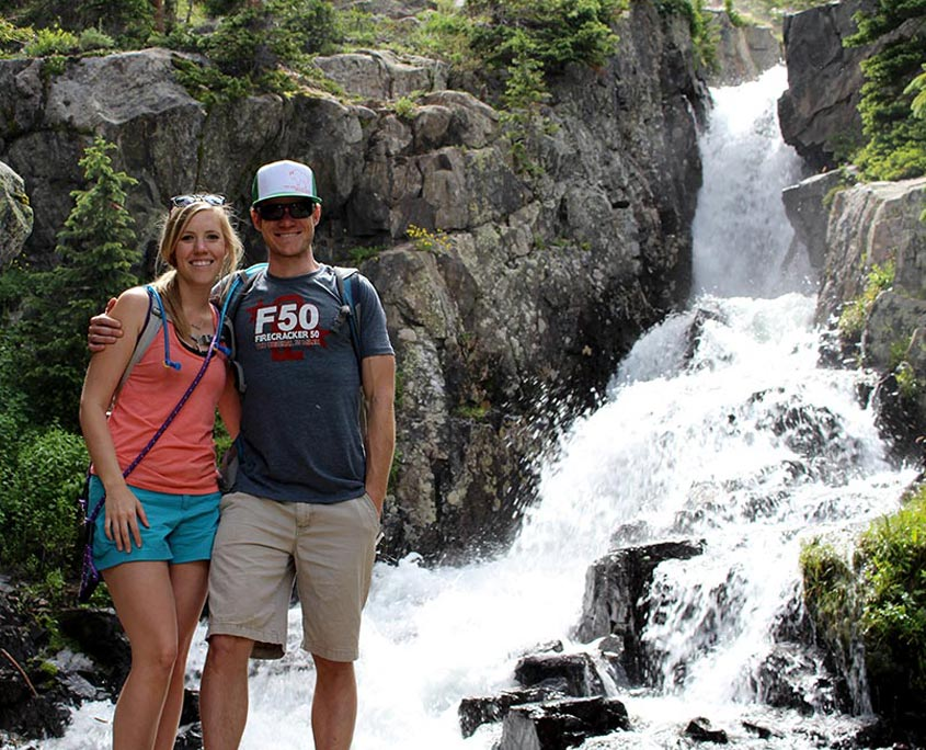 Hiking to Continental Falls